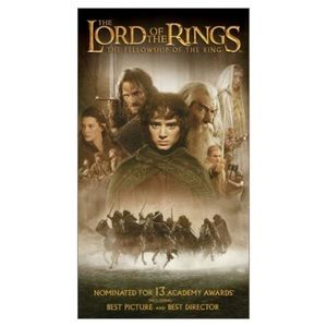 Other - 2/$15 The Lord of the Ring, NWT Sealed. VHS Movis